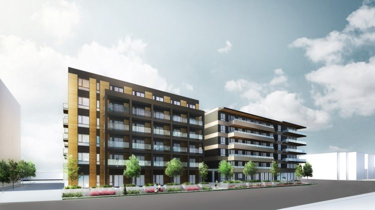 220 Mountain Highway & 1515-1555 Oxford Street rendering