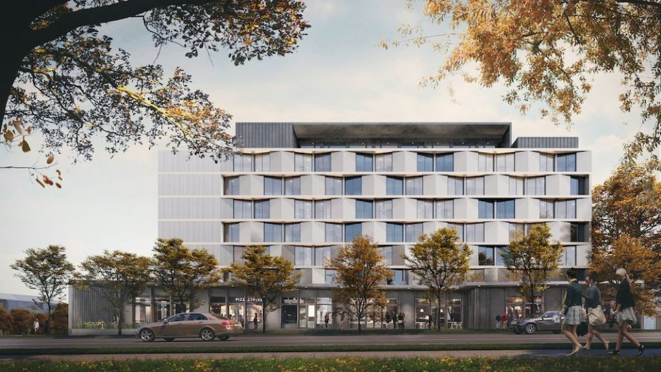 Nine-storey, mixed-use building slated for East 2nd and Scotia