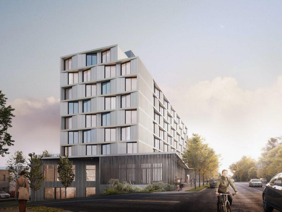 315-319 East 2nd Avenue rendering