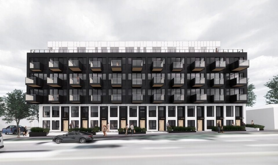 High-contrast market rentals coming to Knight Street