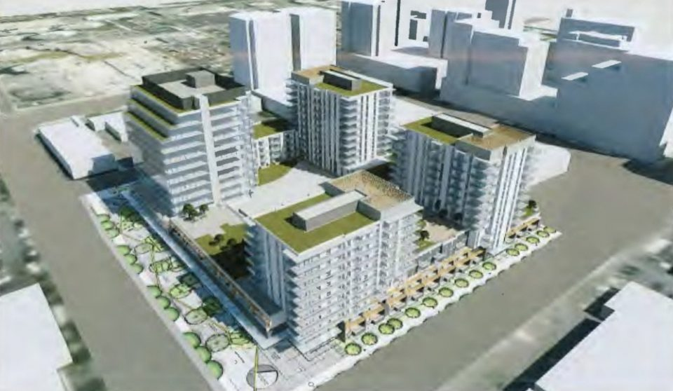 Four towers planned at Minoru and Lansdowne in Richmond