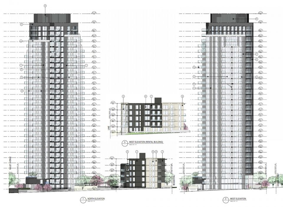 Grange St highrise drawings