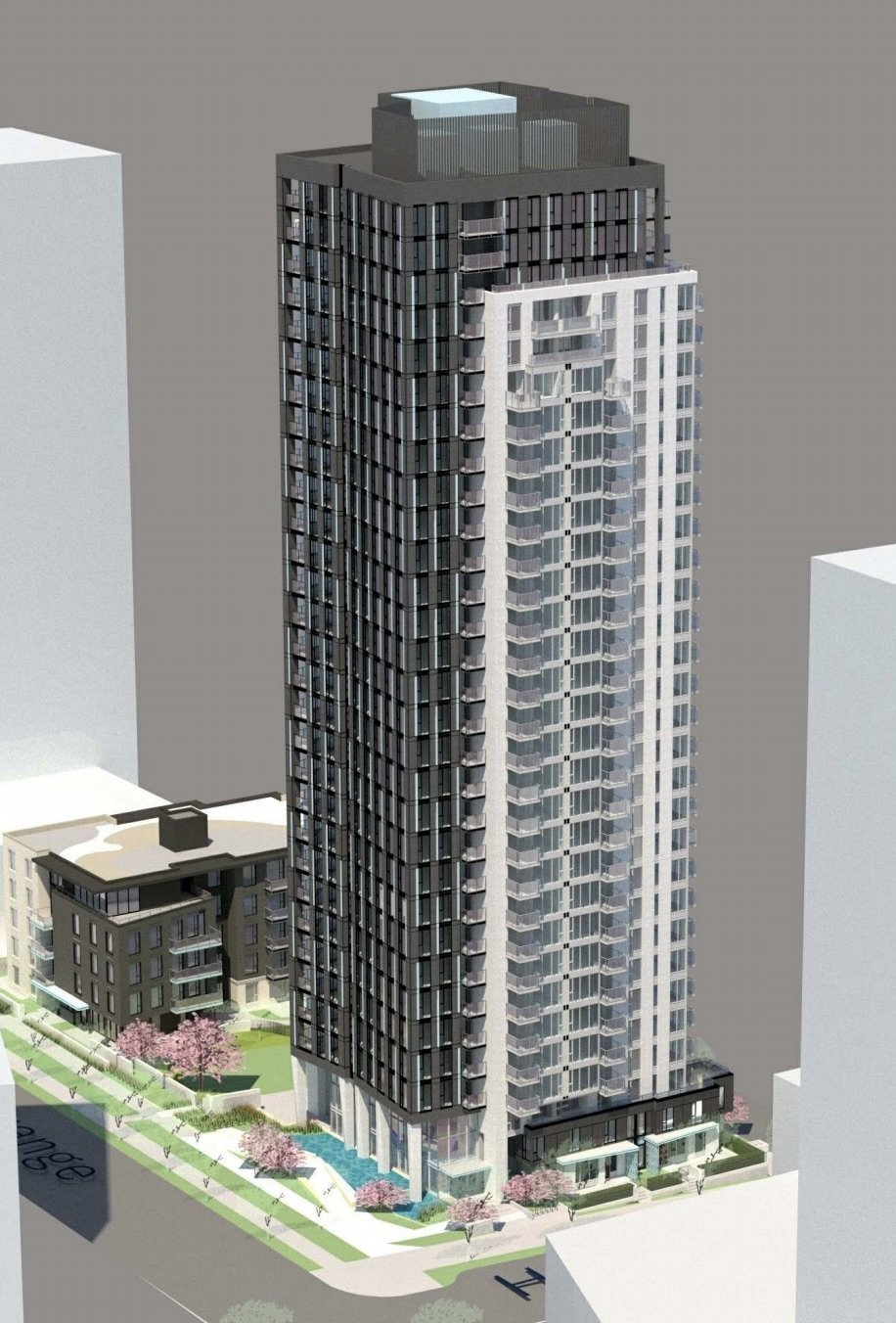 Grange St highrise model