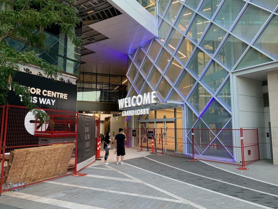 Grand Lobby entrance