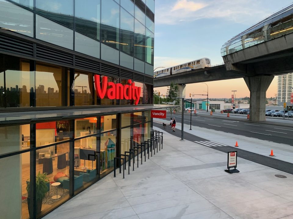 Vancity branch at The Amazing Brentwood