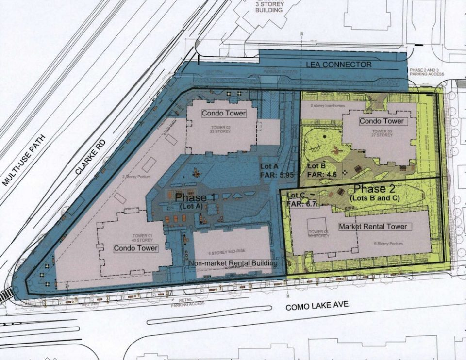Intergulf Coquitlam site plan