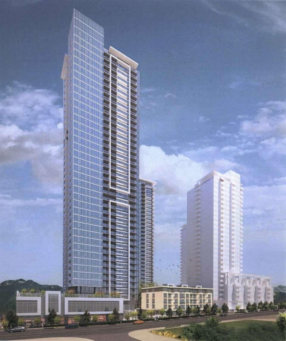Intergulf Coquitlam tower rendering