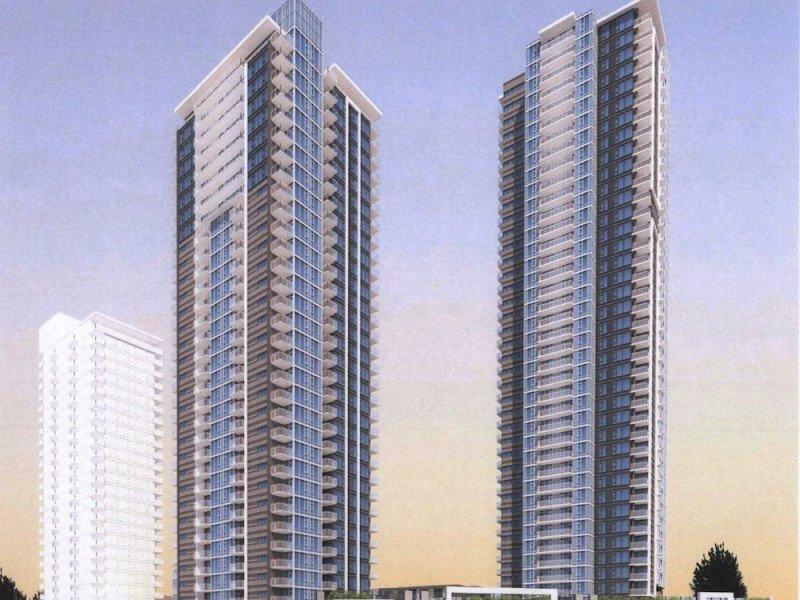 Intergulf Coquitlam tower rendering
