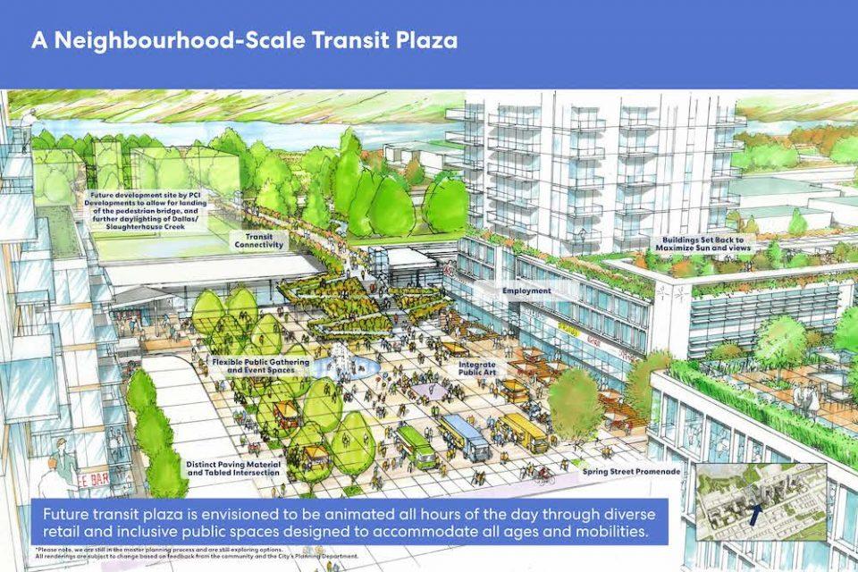 Moody Centre Transit Plaza