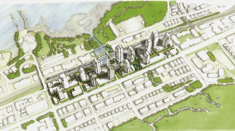 Overall development scheme Moody Centre