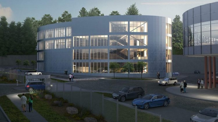 TransLink data centre rendering