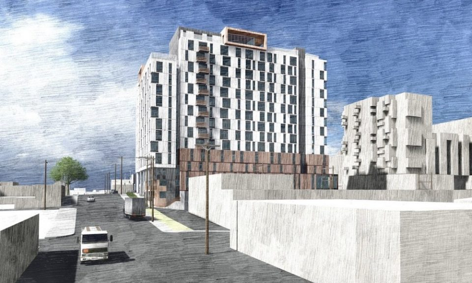 Rental, non-market and shelter complex slated for East Hastings