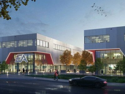Electronic Arts Burnaby expansion rendering