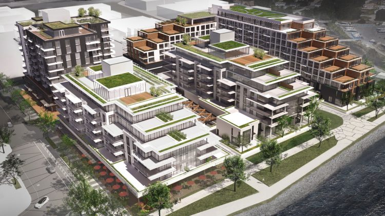 Harbourside Lands North Vancouver renderings