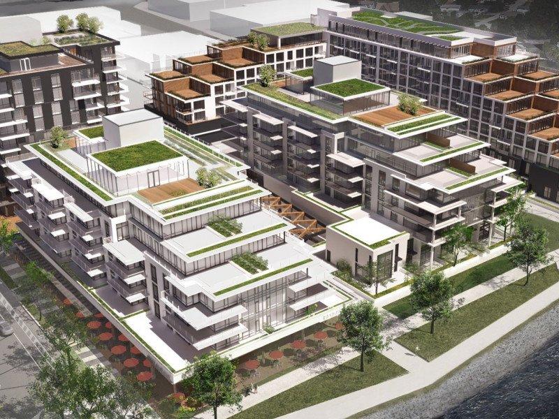 Harbourside Lands North Vancouver renderings