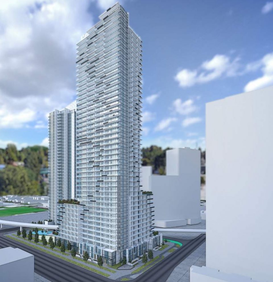 Thind Towers Surrey SkyTrain