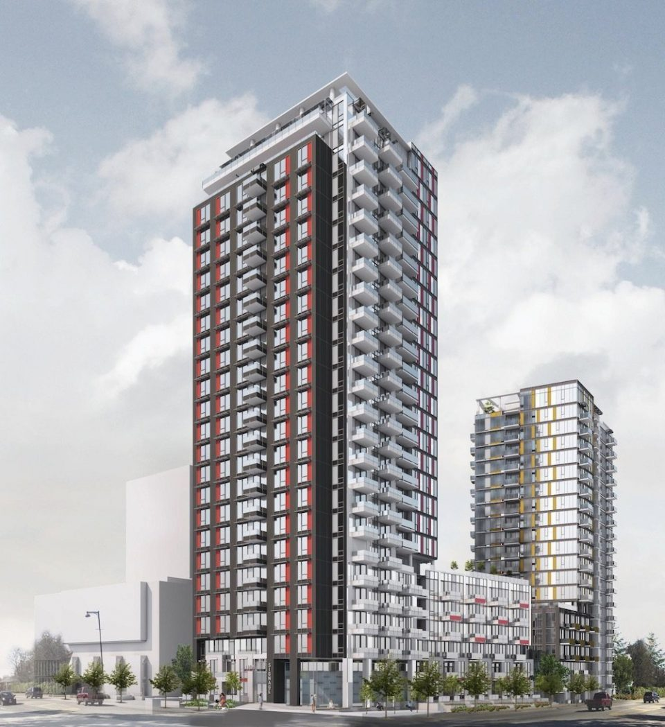 Two-tower Surrey project includes 175 new affordable rental units