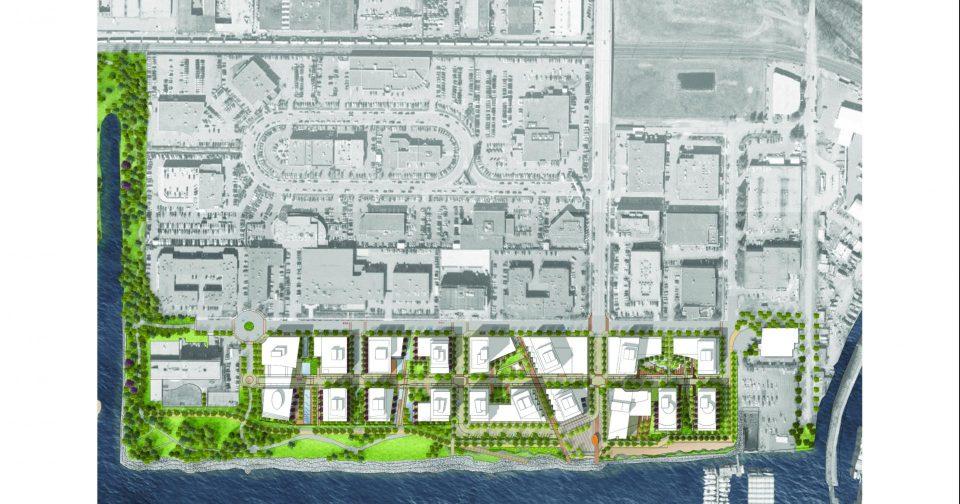 Harbourside Lands North Vancouver master plan