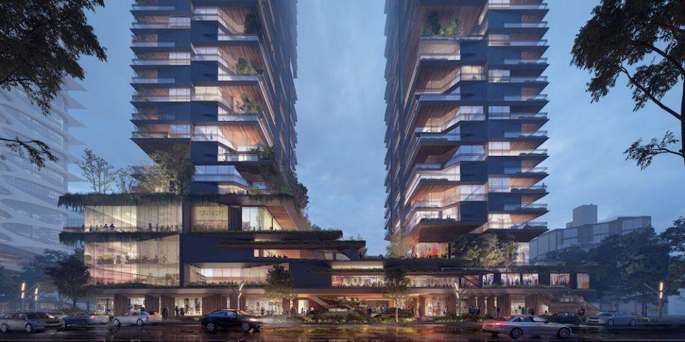 UNstudio Vancouver concept