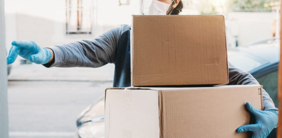 Parcel and package delivery during the pandemic