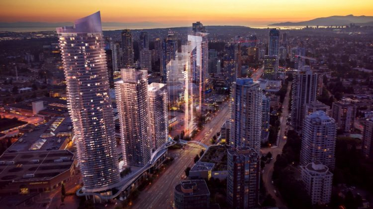 Renderings of Concord Metrotown