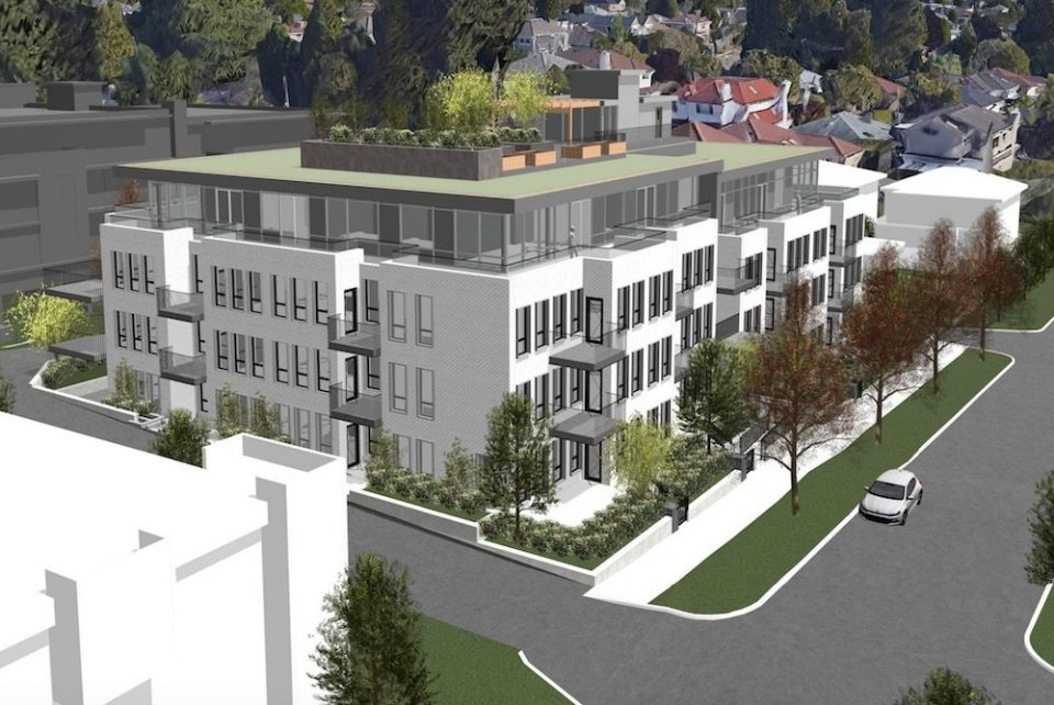 Apartment building to replace four single-family homes in Marpole
