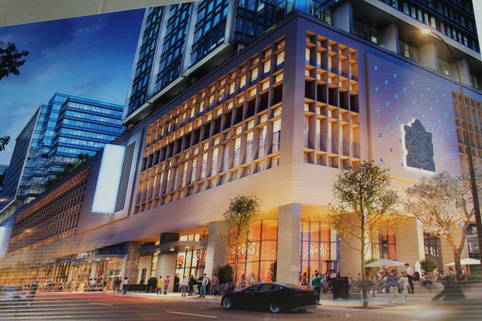 The Post Amazon Vancouver exterior rendering