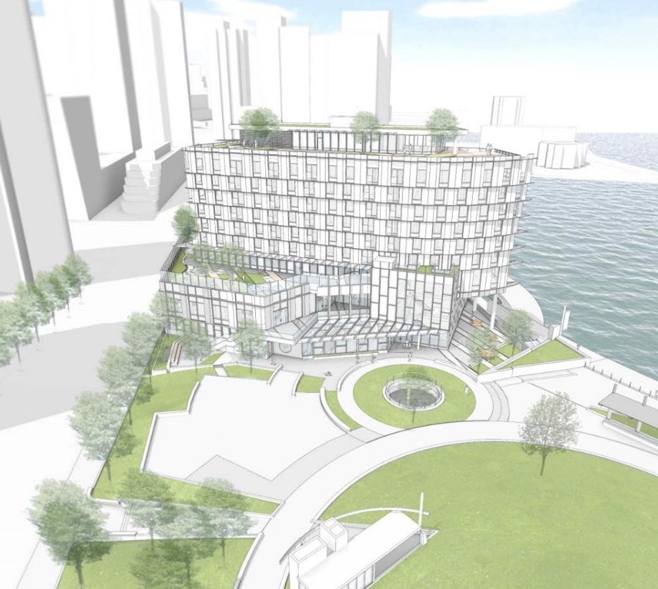 Coal Harbour School, social housing and daycare on the way