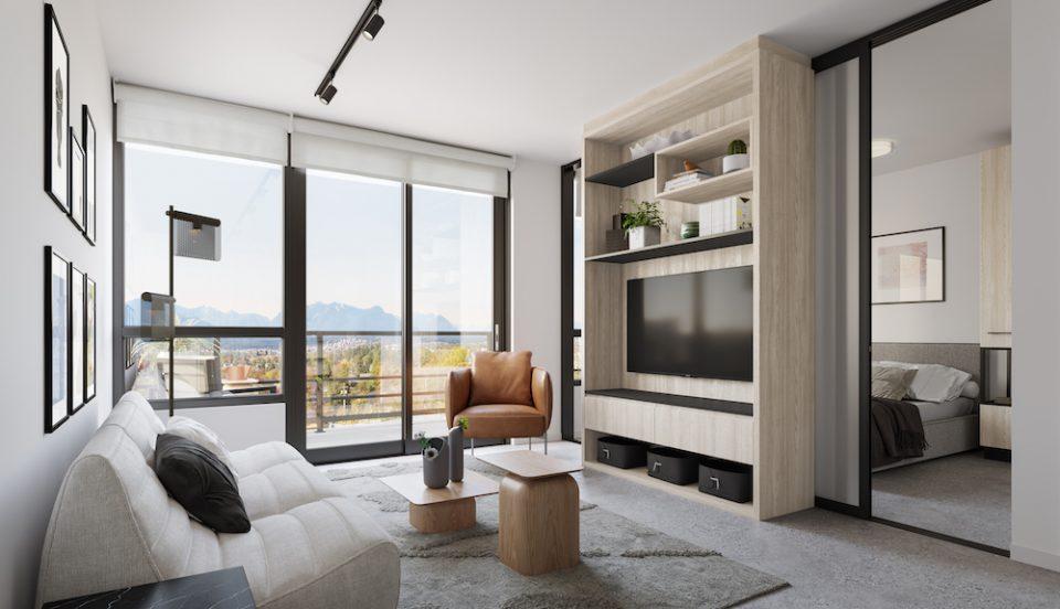 Living room, light colour scheme