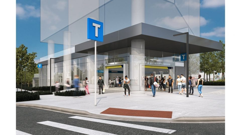 Renderings of Broadway Subway extension stations revealed