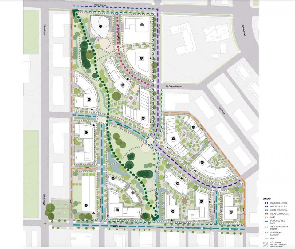 Heather Lands site plan