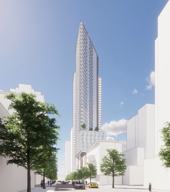 40-storey social housing tower slated for Richards and Drake
