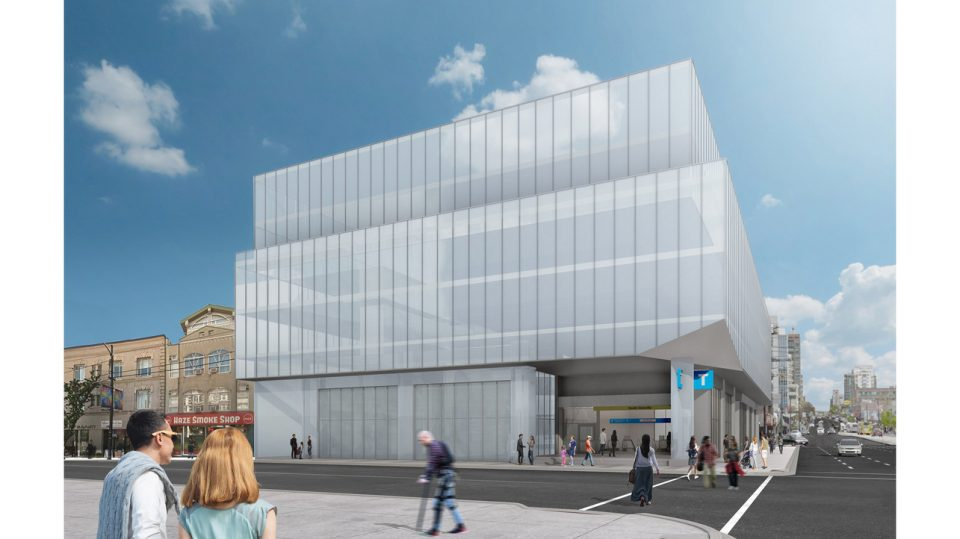 Broadway Subway extension - Rendering of South Granville station