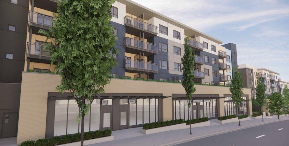 S.U.C.C.E.S.S. housing rendering of streetscape