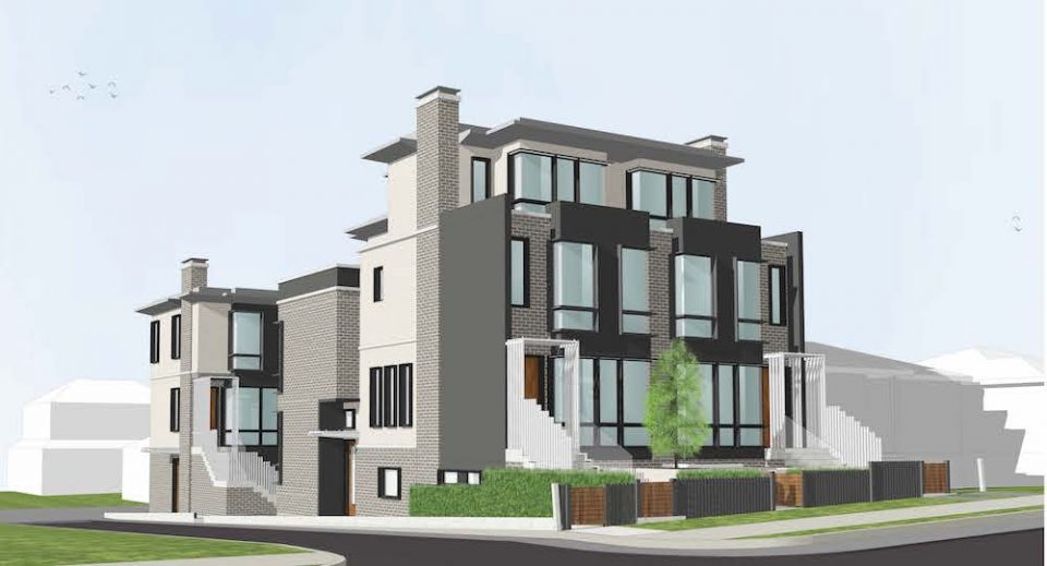 Six new units to replace single-family home off Cambie