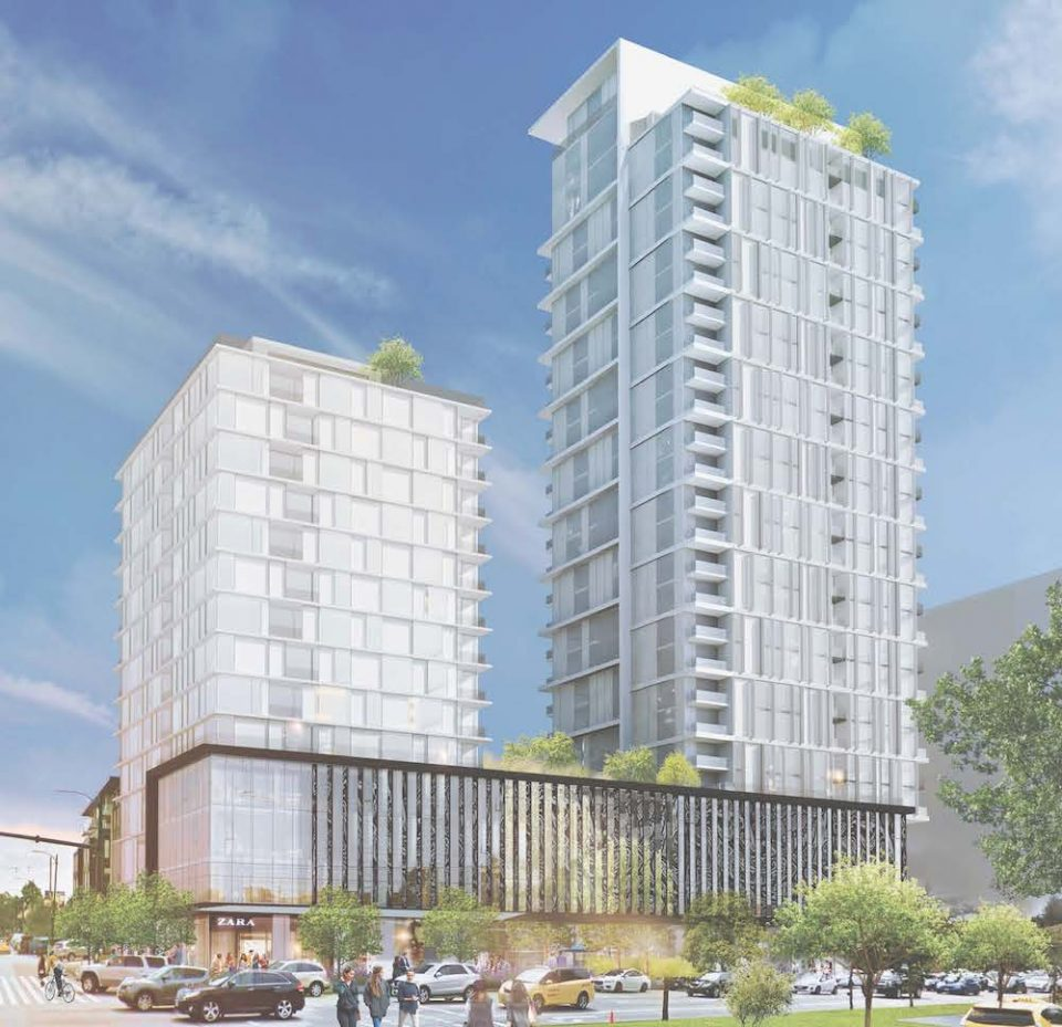 Polygon plans rental and condo towers across from Oakridge Centre