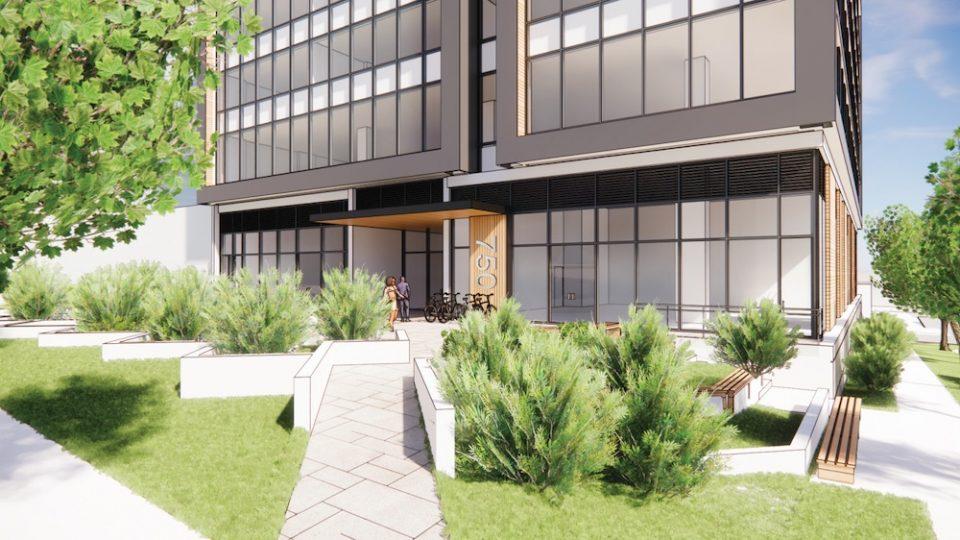 750 SW Marine Dr. building entrance