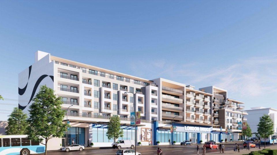 Rental apartments, new London Drugs on East Hastings