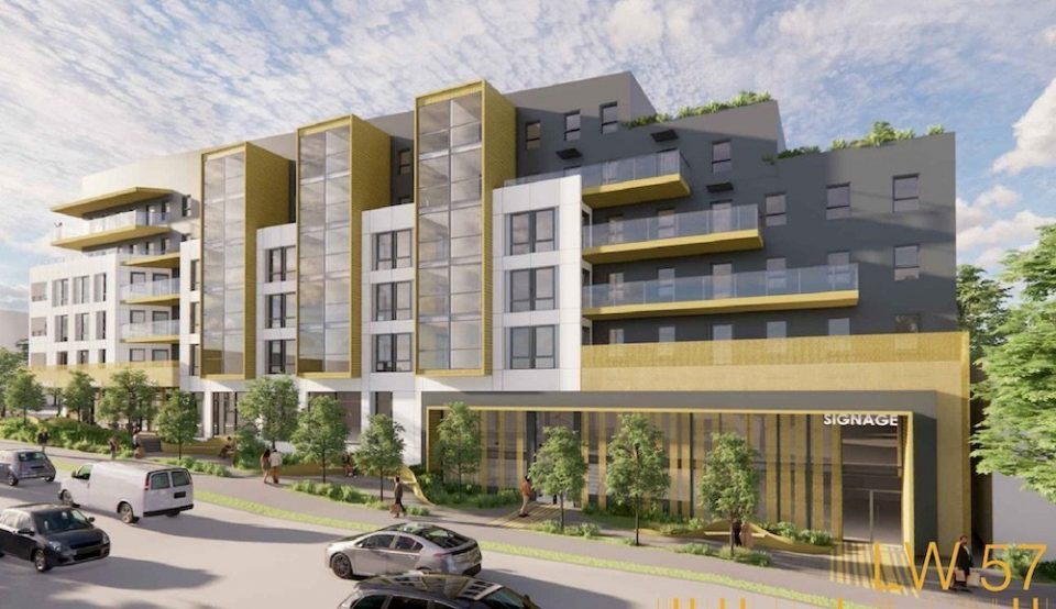 Dundas and Lakewood mixed-use inspired by nearby port