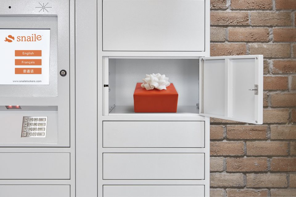 Out-SMART thieves this holiday season with a Snaile Smart Parcel Locker