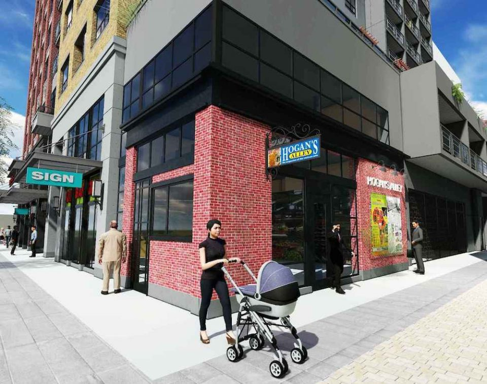 Hogan's Alley retail space
