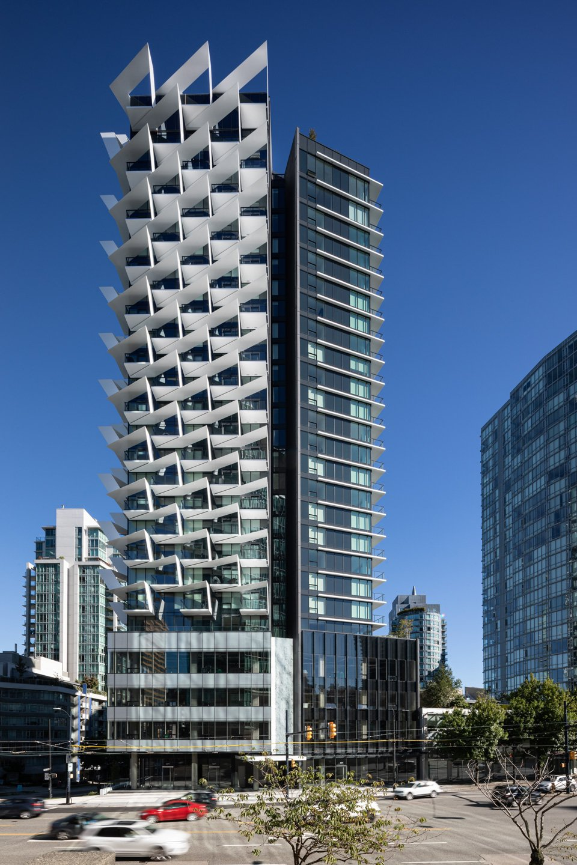 Cardero Vancouver condo tower