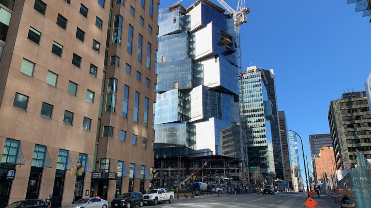 Deloitte Summit Vancouver construction progress