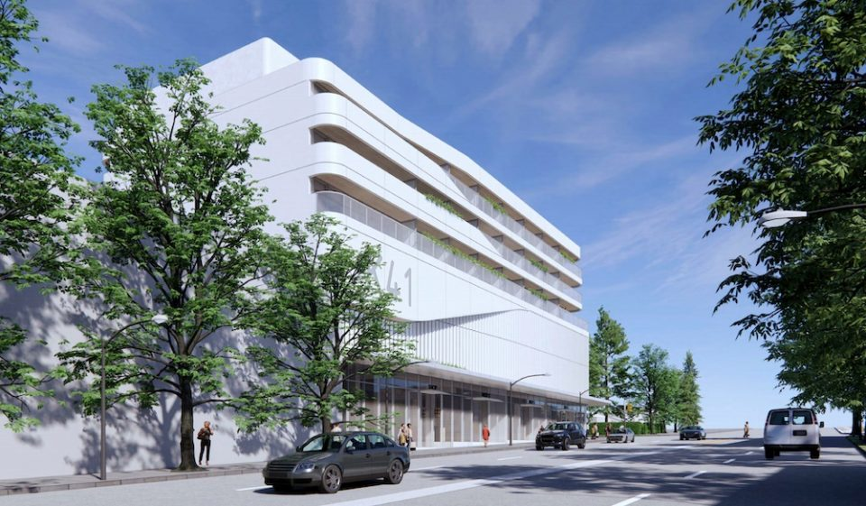 Building rendering - West 41st Ave.