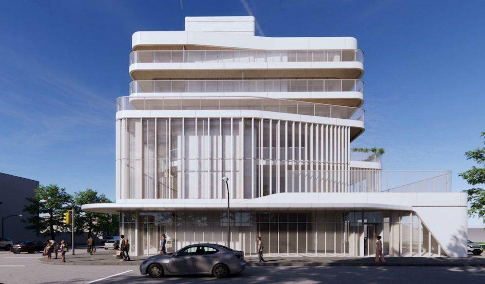 Building rendering - side