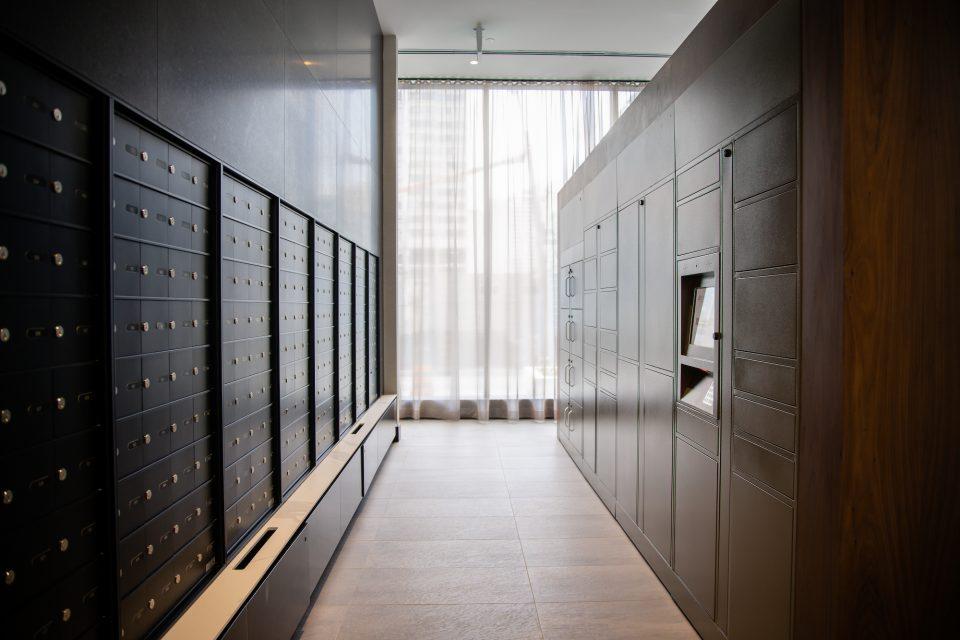 residents smart parcel lockers