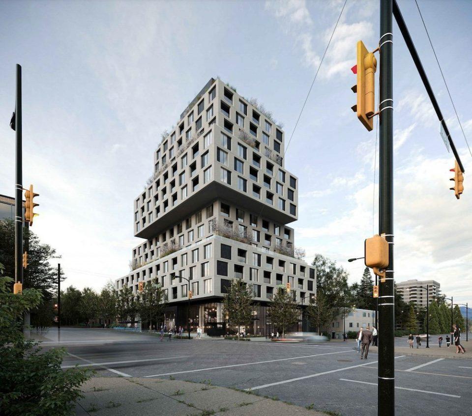 New renderings of Broadway & Alma rental tower