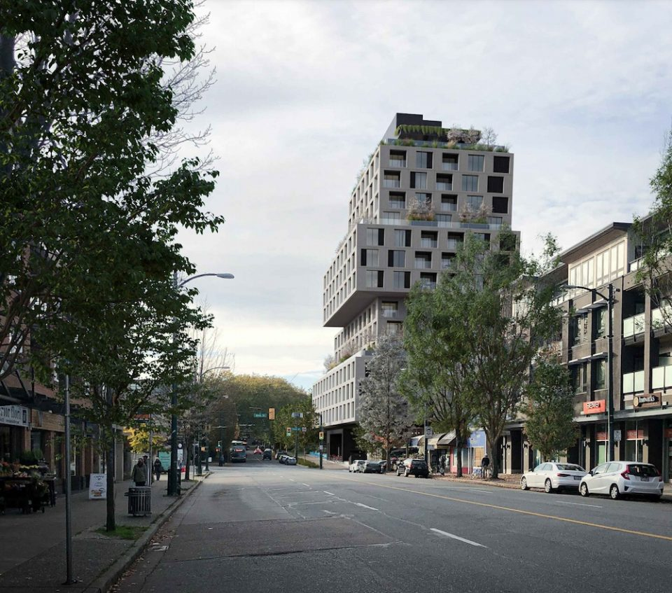 West Broadway and Alma rendering