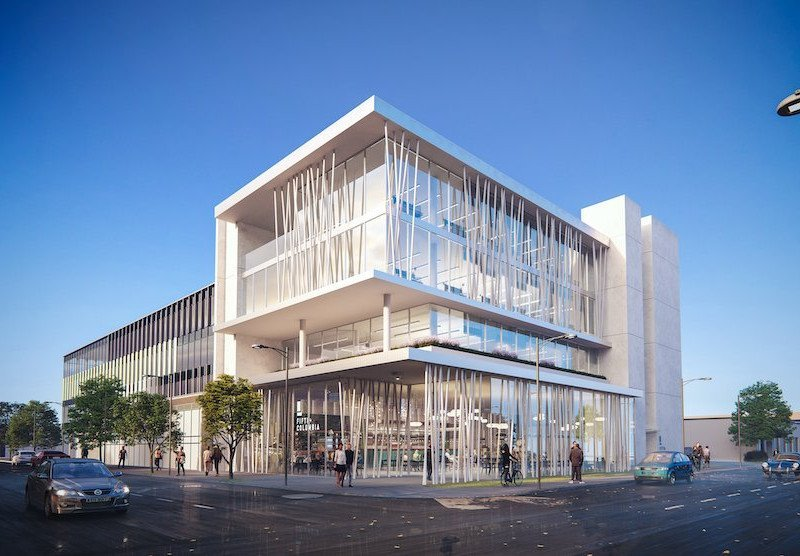 Fifth and Columbia exterior rendering