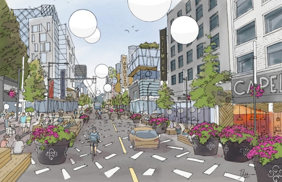Granville and Nelson rendering